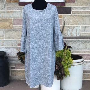 a.n.a. Bell Sleeve Knit Dress